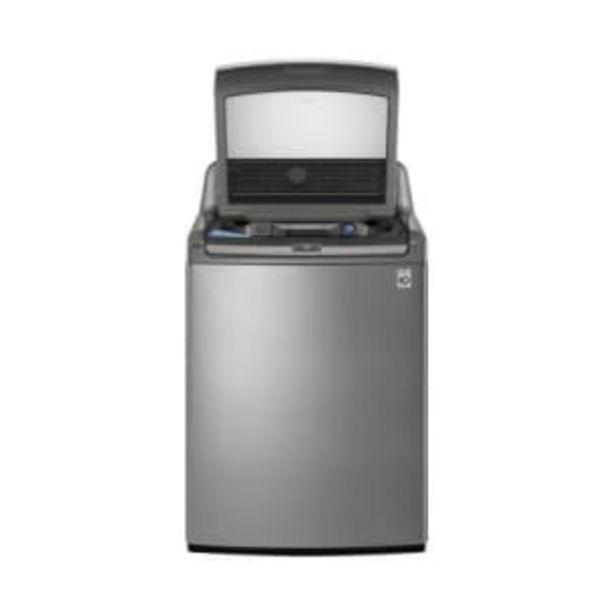 Oferta de Lavadora LG Turbo 3D 25 kg Carga Superior Acero por $12360.4