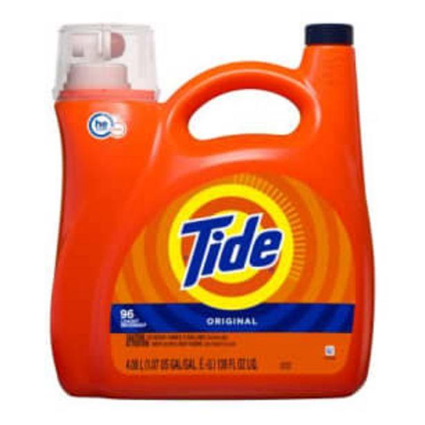 Oferta de Detergente Líquido Tide 4.4 l por $421.46