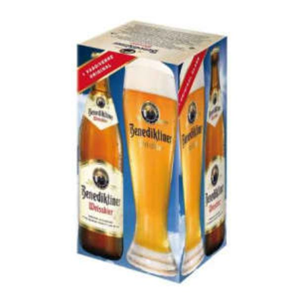 Oferta de Cerveza Clara Benediktiner 3 pzas de 500 ml por $189.24