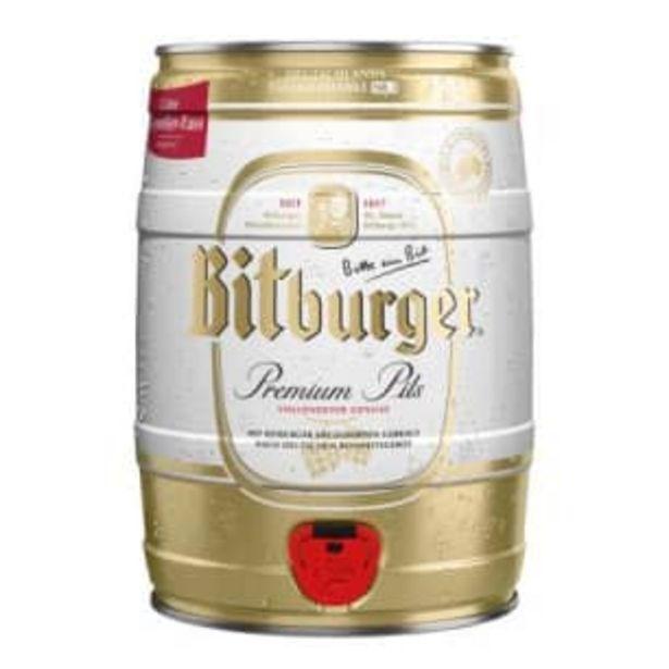 Oferta de Cerveza Clara Bitburguer 5 l por $424.53