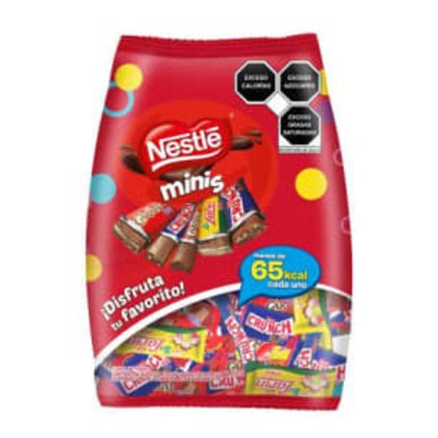 Oferta de Surtido de Chocolates Nestlé Minis 802 g por $143.22