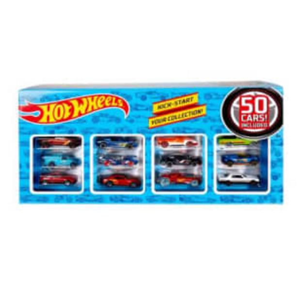 Oferta de Set de Autos Hot Wheels 50 pzas por $1001.52