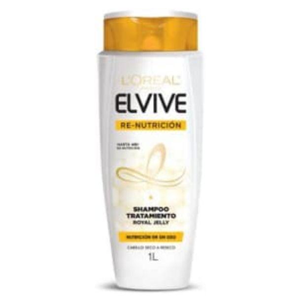 Oferta de Shampoo Tratamiento L'Oréal Elvive con Jalea Real 1 l por $70.59