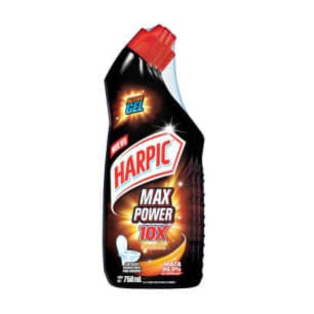 Oferta de Limpiador Harpic Max Power 3 pzas de 750 ml por $91.05