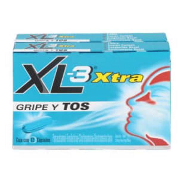 Oferta de Antigripal XL-3 Xtra 24 Cápsulas por $76.73