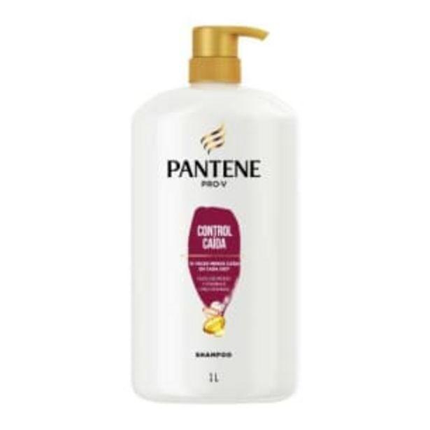 Oferta de Shampoo Pantene Pro-V Control Caída 1 l por $97.19
