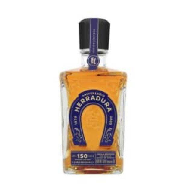 Oferta de Tequila Herradura Doble Reposado 750 ml por $902.26