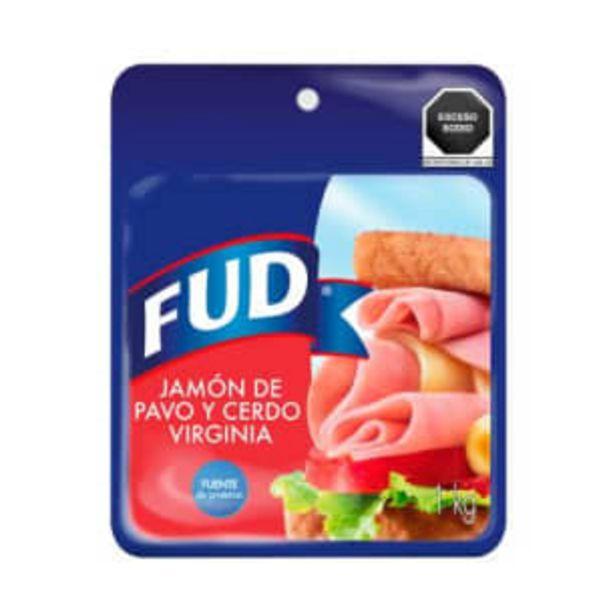 Oferta de Jamón de Pavo y Cerdo FUD Virginia 1 Kg por $121.74