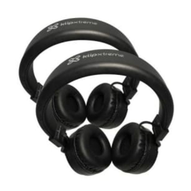 Oferta de Audífonos Inalámbricos Klip Extreme Negro 2 pzas por $776.46