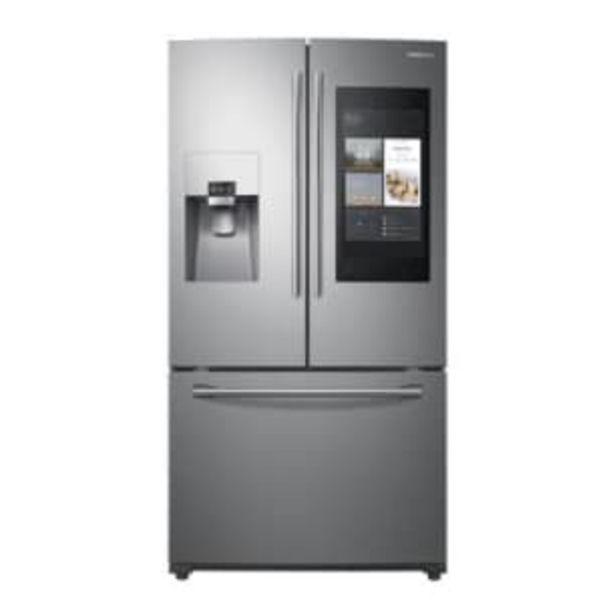 Oferta de Refrigerador Samsung French Door 24 Pies Cúbicos Silver por $40918.98