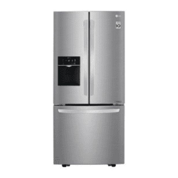 Oferta de Refrigerador LG French Door Inverter 22 Pies Cúbicos por $20458.97
