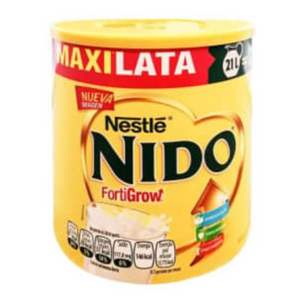 Oferta de Leche en Polvo Nido Nestlé Entera Fortificada 2.52 kg por $291.56