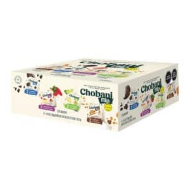 Oferta de Yogurt Griego Chobani Flip 8 pzas por $143.22