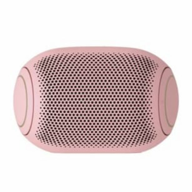 Oferta de Bocina Inalámbrica LG XBOOM Go Jellybean Bubble Gum por $1021.98