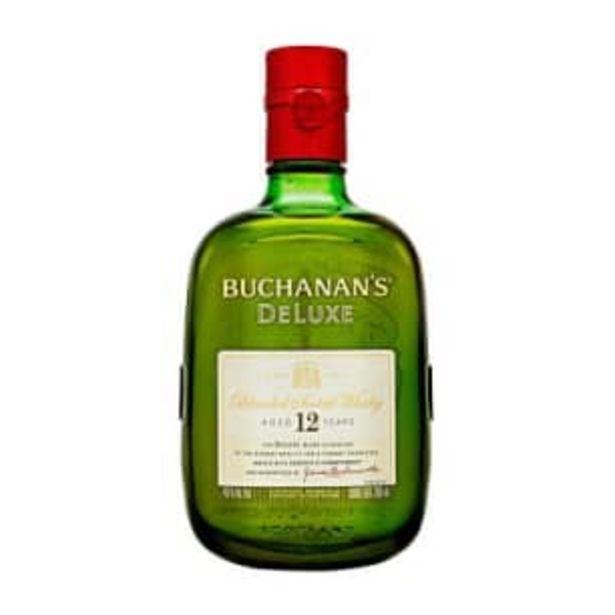 Oferta de Whisky Buchanan's Deluxe 12 750 ml por $685