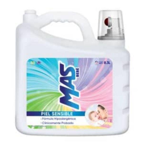 Oferta de Detergente Líquido MAS Bebé 8.3 l por $215