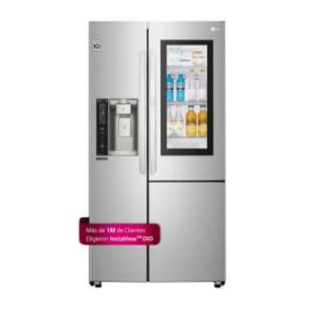 Oferta de Refrigerador LG Instaview 26 Pies Cúbicos por $29356