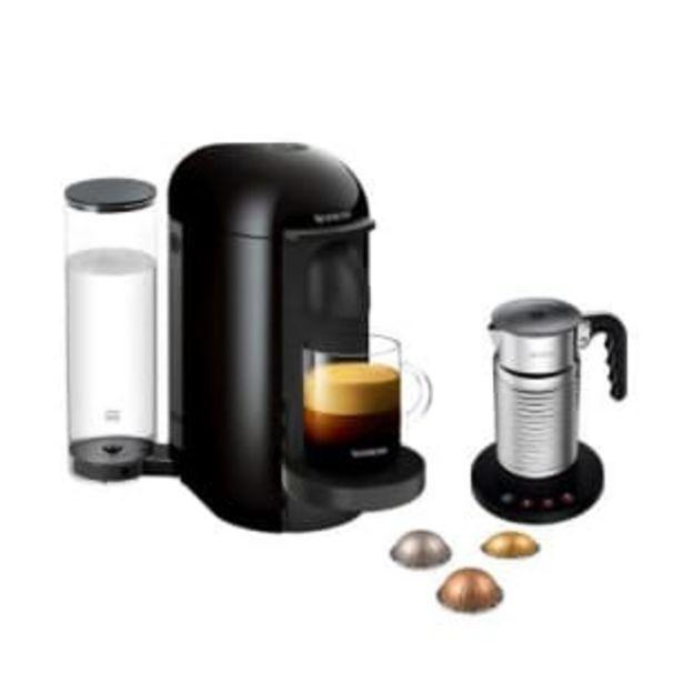 Oferta de Cafetera Nespresso Vertuo Ink + Aeroccino 4 + 12 Cápsulas de Café por $4090.98