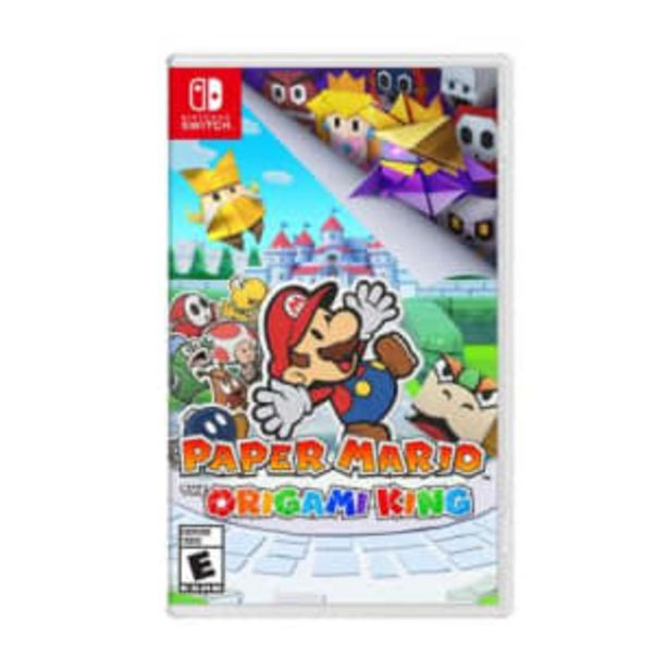 Oferta de Paper Mario The Origami King Nintendo Switch por $1328.88