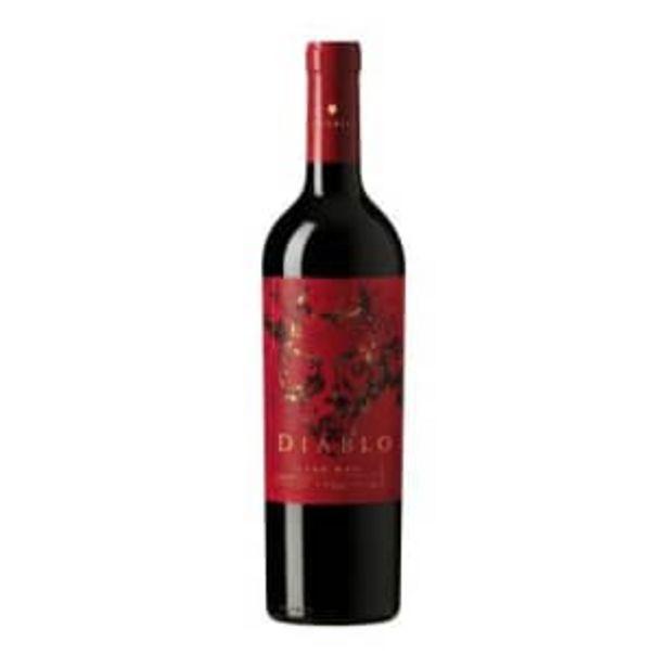Oferta de Vino Tinto Diablo Dark Red 750 ml por $285.42