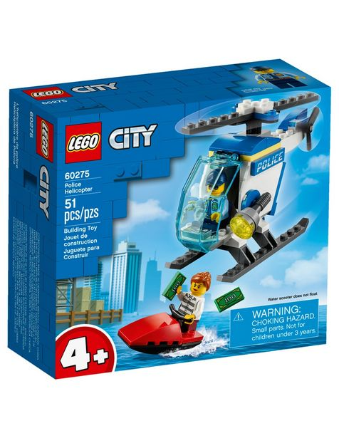 Oferta de Set de Construcción Helicóptero de Policía Lego City por $199