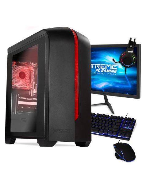 Oferta de Xtreme PC Gamer Computadora XTGFAT8GBVEGA3M 21 Pulgadas Intel UHD Graphics 600 AMD Athlon 8 GB RAM 240 GB SSD por $8499