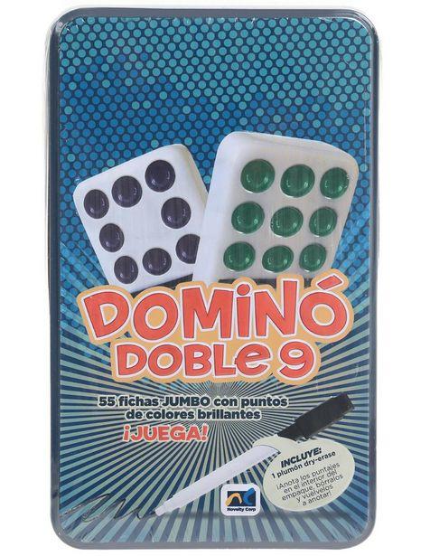 Oferta de Novelty Domino Sintético Cubano 9 por $237.15