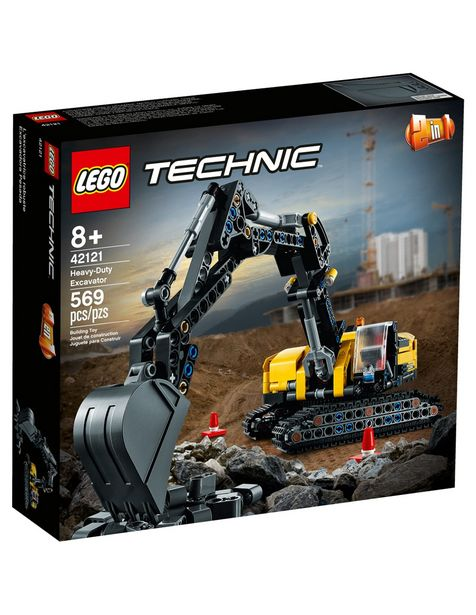 Oferta de Figura Armable Excavadora Pesada Lego Technic por $999