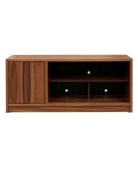Oferta de Mueble de TV Diper Ellica Contemporánea de madera natural por $8799.2