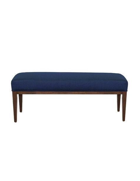 Oferta de Banca Acor Arty Contemporánea de madera azul marino por $4399.2