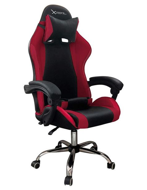 Oferta de Silla Gamer Stylos XZSXZ05R rojo por $4799