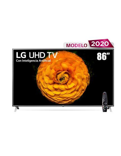 Oferta de Pantalla LG Smart TV LED de 86 pulgadas 4K ULTRA HD Modelo 86UN8570PUB por $71109.6