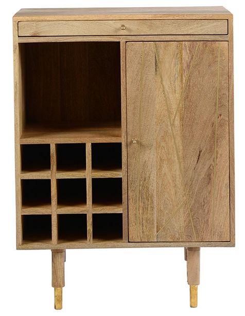 Oferta de Bar h by haus Chopstick Trendy de madera natural por $7499.5