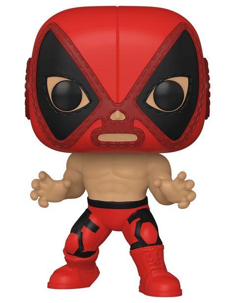 Oferta de Figura Deadpool POP! Marvel Luchadores por $149