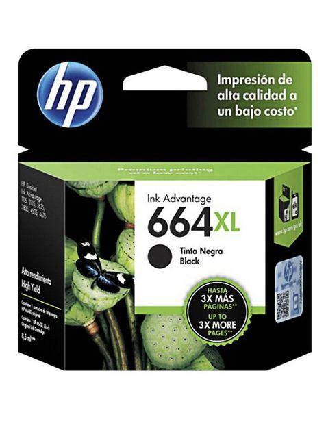 Oferta de Cartucho de Tinta Negra HP 664XL por $709