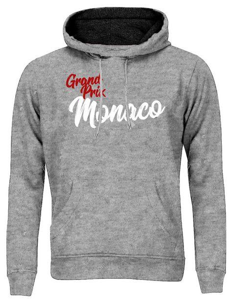 Oferta de Sudadera MX Racing Hoodie con capucha a contraste Monaco Grand Prix por $499