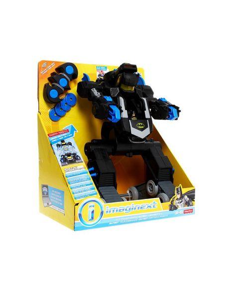 Oferta de Figura de Acción a Control Remoto Batbot Fisher-Price Imaginex por $1399.3