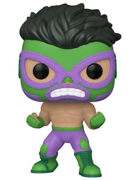 Oferta de Figura Hulk POP! Marvel Luchadores por $149