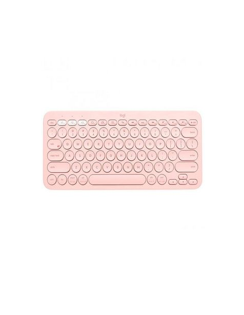 Oferta de Teclado Bluetooth Logitech K380 Rose Mac Android iOS 920-009594 por $699