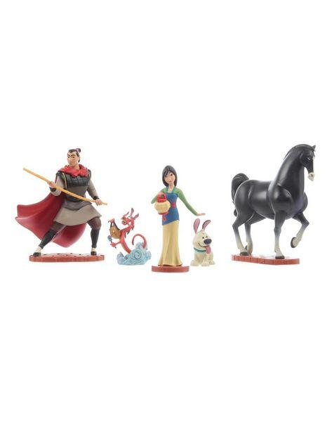Oferta de Set de Figuras Disney Collection Mulan por $279.3