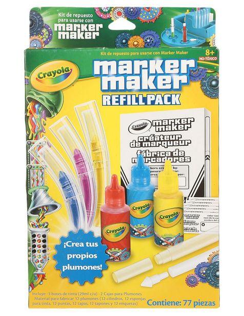 Oferta de Kit de Repuesto Crayola Fábrica de Marcadores por $228.65