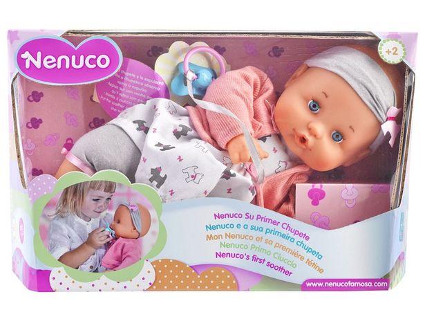 Oferta de Muñeca Nenuco Mi Primer Chupón por $509.15