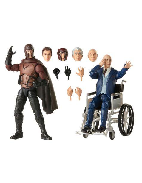 Oferta de Set Figuras de Colección Magneto y Professor X Marvel por $649