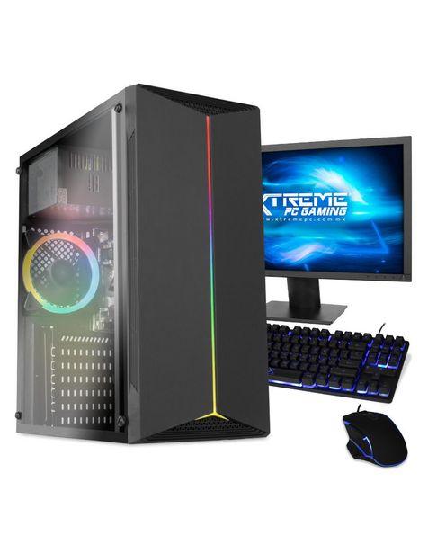 Oferta de Xtreme PC Gamer Computadora XTAEIC8GBHD630M 21.5 Pulgadas Intel Celeron 8 GB RAM 240 GB SSD por $7999
