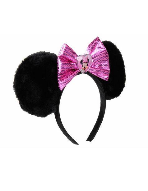 Oferta de Diadema de Orejas Disney Collection Pink Minnie por $139.3