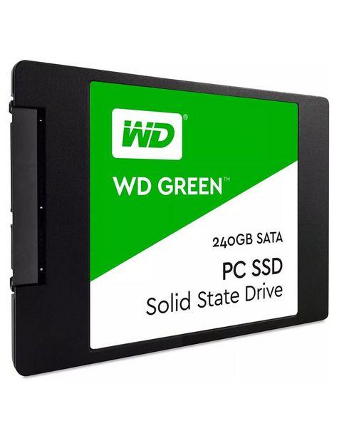 Oferta de Estado Solido SSD 240GB Western Digital Green Laptop PC 2.5 WDS240G2G0A por $869