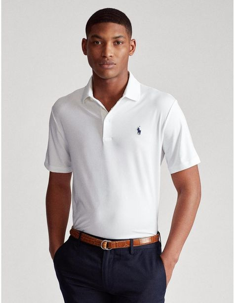 Oferta de Playera Polo Ralph Lauren corte regular fit con logotipo por $995