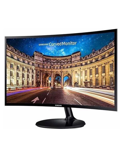 Oferta de Monitor Curvo Samsung LC27F390FH 27 Pulgadas Full HD por $4899