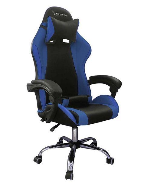 Oferta de Silla Gamer Stylos XZSXZ05A azul por $4069