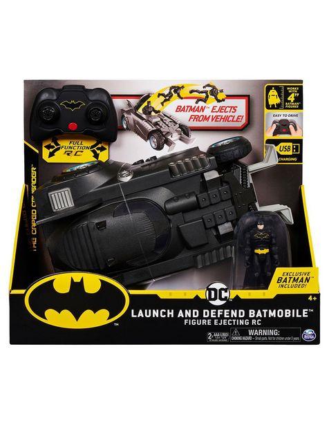 Oferta de Coche a Control Remoto Batimovil Spin Master Batman por $934.15